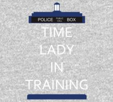 Time Lady In Training Kids Clothes
