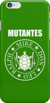 Mutantes! Iphone by loku