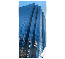 Boston Blue Glass Poster