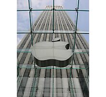Glass Apple Photographic Print