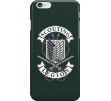 Scouting Legion iPhone Case/Skin