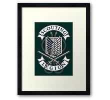Scouting Legion Framed Print