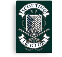 Scouting Legion Canvas Print
