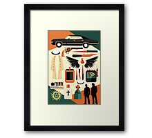 Road so far Framed Print