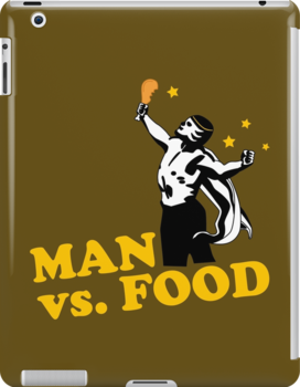 Man vs. Food IPad by loku