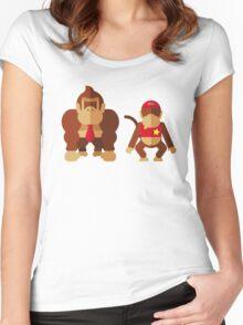 Cool monkeys Women's Fitted Scoop T-Shirt