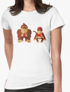 Cool monkeys Womens Fitted T-Shirt