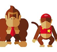 Cool monkeys by miguelolivera