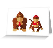 Cool monkeys Greeting Card