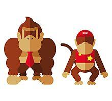 Cool monkeys Photographic Print