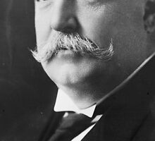 Extreme closeup of William Howard Taft's face by toastfarts