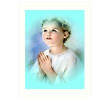 Prayer... Art Print