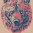 Bear beige by weirdbird