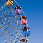 Colorful Ferris Wheel by dbvirago