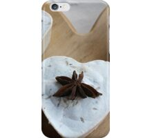handmade soap heart iPhone Case/Skin