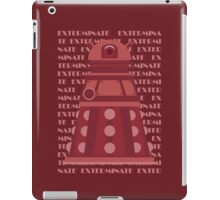 Exterminate Red iPad Case/Skin