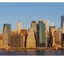 Manhattan panorama Sticker