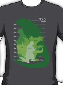 Monster Evolution Green T-Shirt