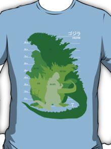 Monster Evolution Green T-Shirt