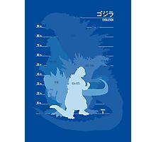 Monster Evolution Blue Photographic Print