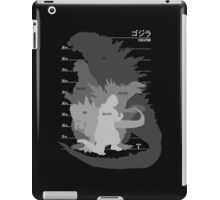 Monster Evolution Black iPad Case/Skin