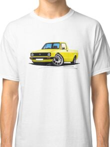 VW Caddy Yellow Classic T-Shirt