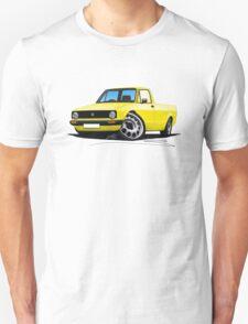 VW Caddy Yellow Unisex T-Shirt