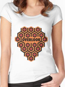 The Shining Overlook Hotel Women's Fitted Scoop T-Shirt