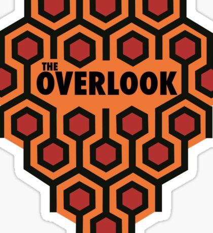 The Shining Overlook Hotel Sticker
