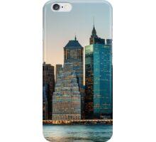 New York City skyline panorama iPhone Case/Skin