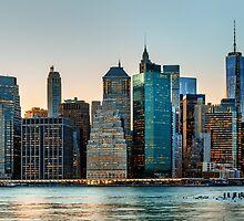 New York City skyline panorama by Mikhail Palinchak