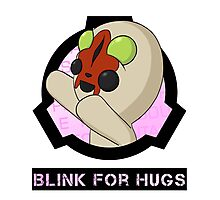 SCP-173 Blink For Hugs Photographic Print