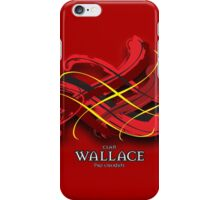 Wallace Tartan Twist iPhone Case/Skin