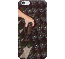wine bottles in the cellar iPhone Case/Skin