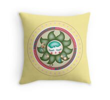 flower sire Throw Pillow