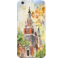 A Church In Our Street In Budapest iPhone Case/Skin