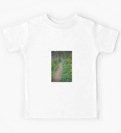 Along the Bluebell Path Kids Tee