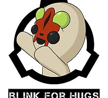 SCP-173 Blink For Hugs (Hollow) by LawlessSquirrel