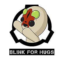 SCP-173 Blink For Hugs (Hollow) Photographic Print