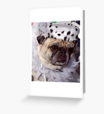 Moxy II Greeting Card