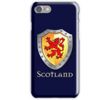 Scotland Lion Rampant Shield iPhone Case/Skin