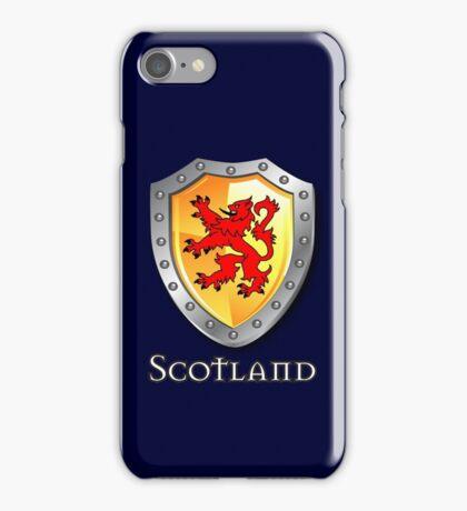 Scotland Lion Rampant Shield iPhone Case/Skin