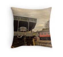 Old Coal Truck Throw Pillow