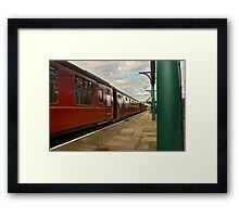 Carriages Framed Print