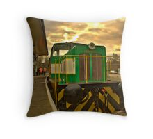 Old Diesel 2 Throw Pillow