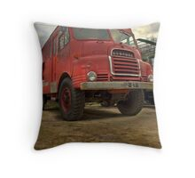 De-commissioned Throw Pillow