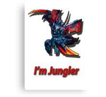Kha' zix - I'm Jungler Canvas Print