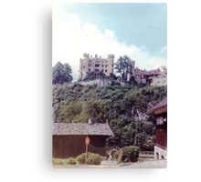 Bavarian castle 1969 Canvas Print