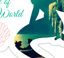 Part of your world Sticker