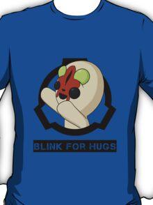 SCP-173 Blink For Hugs (Hollow) T-Shirt